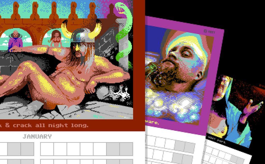 Zooparty manboobs poikakalenteri